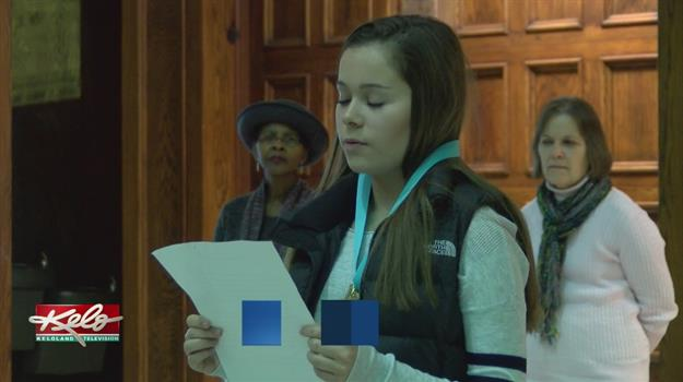 Group Of Students Show Appreciation For Human Rights Day