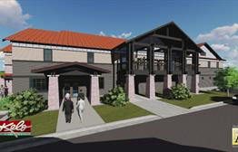 New Funeral Home One Of City's Largest Projects