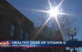 Healthbeat: Healthy Dose Of Vitamin D