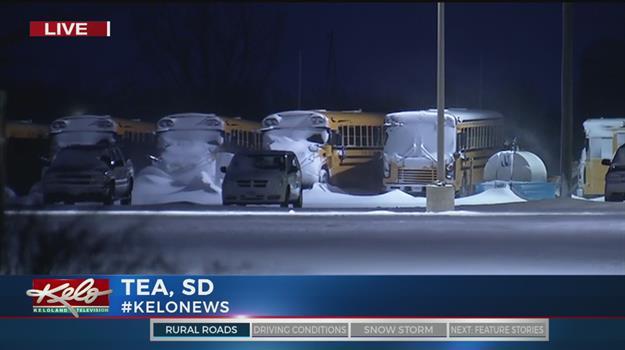Blowing Snow A Concern In Tea Area