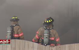 Crews Battle House Fire In Sioux Falls
