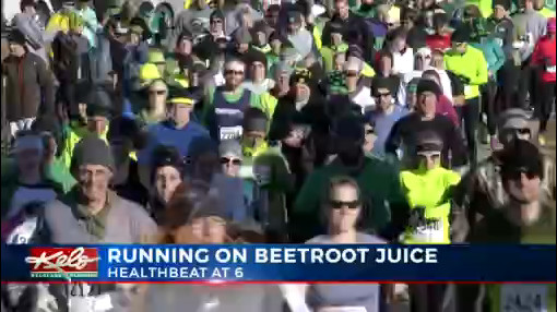 Running On Beetroot Juice