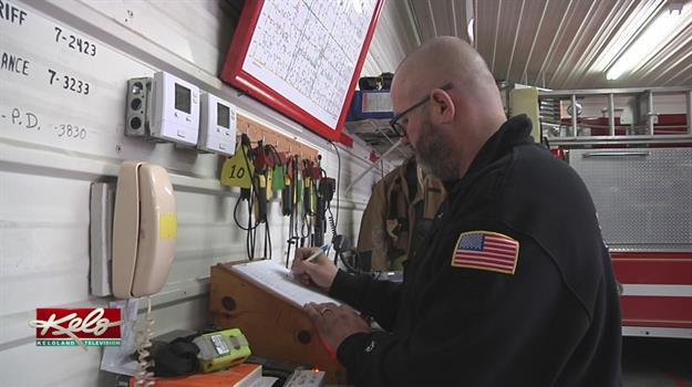 A Volunteer Firefighter Shortage Across South Dakota