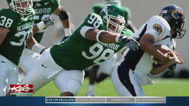 Former Football Standout Turns From Past Towards Bright Future