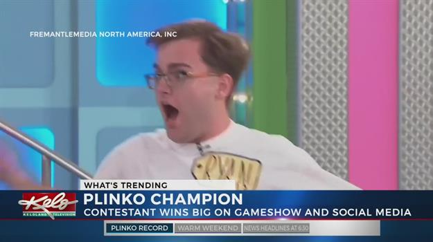 'Price Is Right' Contestant Wins Big At Plinko