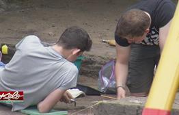 International Students Take Over Archeodome