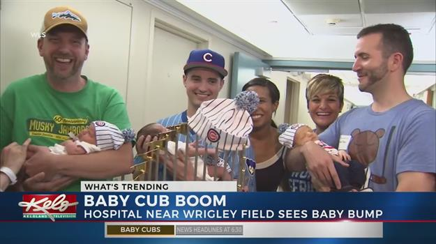 Chicago Hospital Sees Baby Cub Boom After World Series Win