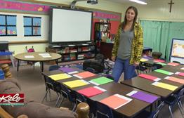 First Day Of School For First-Time Teacher