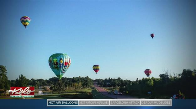 Up And Away: Balloon Race To Launch Friday