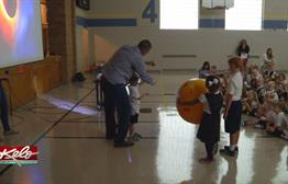 Eclipse 101 At St. Mary School In Sioux Falls