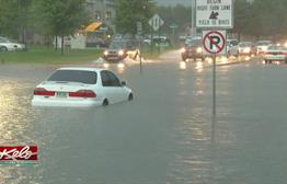 Street Flooding Causes Trouble For Drivers