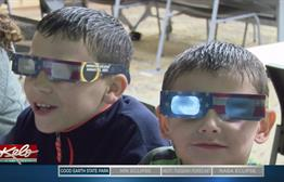 Clouds, Rain Keep Good Earth State Park Visitors From Watching Eclipse Outside