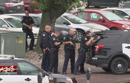 5 p.m. Update: Suspect Arrested Following Standoff Outside Downtown Library