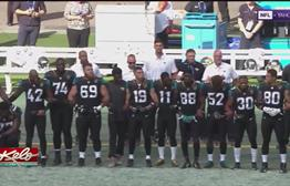 NFL Protests A Teachable Moment For Flag Football Players