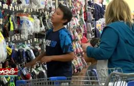 Students Take Shopping Trip For Good Grades