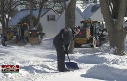 Sioux Falls Residents Cleaning Up After Snow