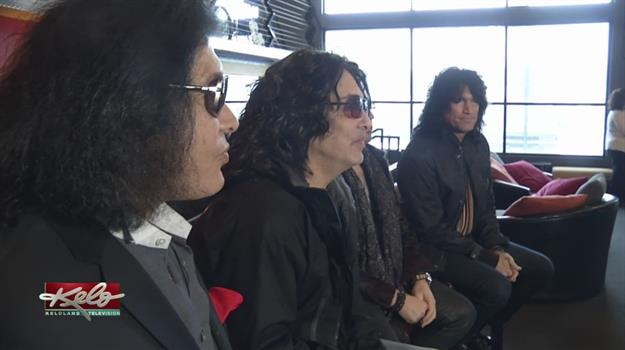 KISS Donates Guitars To Brennan Rock N Roll Academy