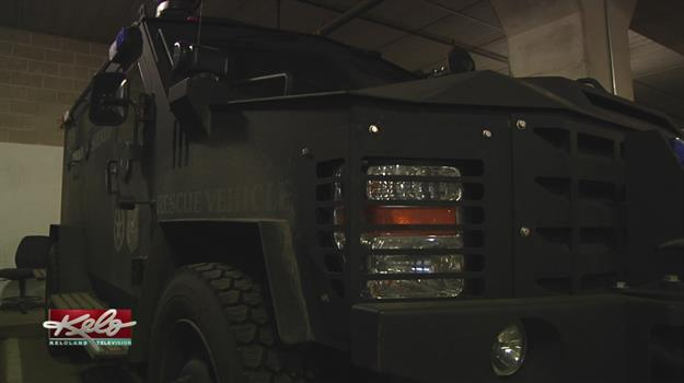 Bearcat Vehicle Credited With Saving Lives