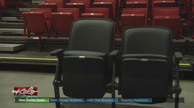 Fans Will Soon Take A Seat In New Chairs At Swiftel Center