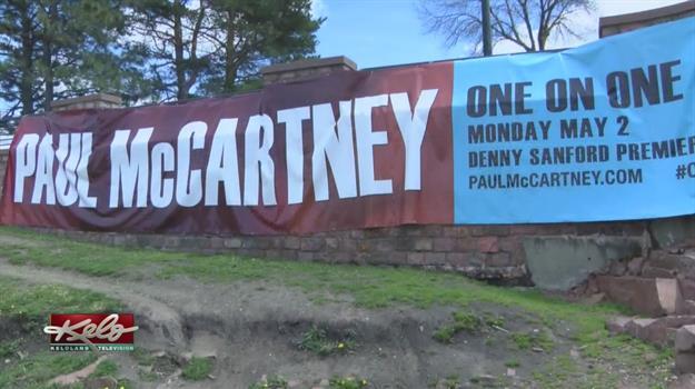 Extra Effort To Impress Paul McCartney