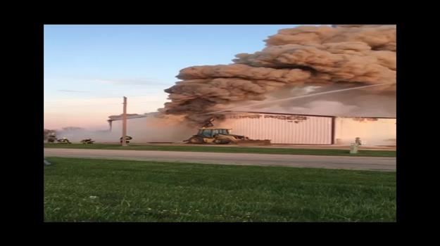 Ag Business In Flames In Milbank