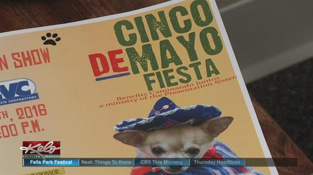 Organizers Prepare For Cinco de Mayo Fiesta At the Falls
