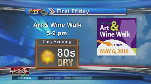 A Warm, Sunny Forecast For Art And Wine Walk