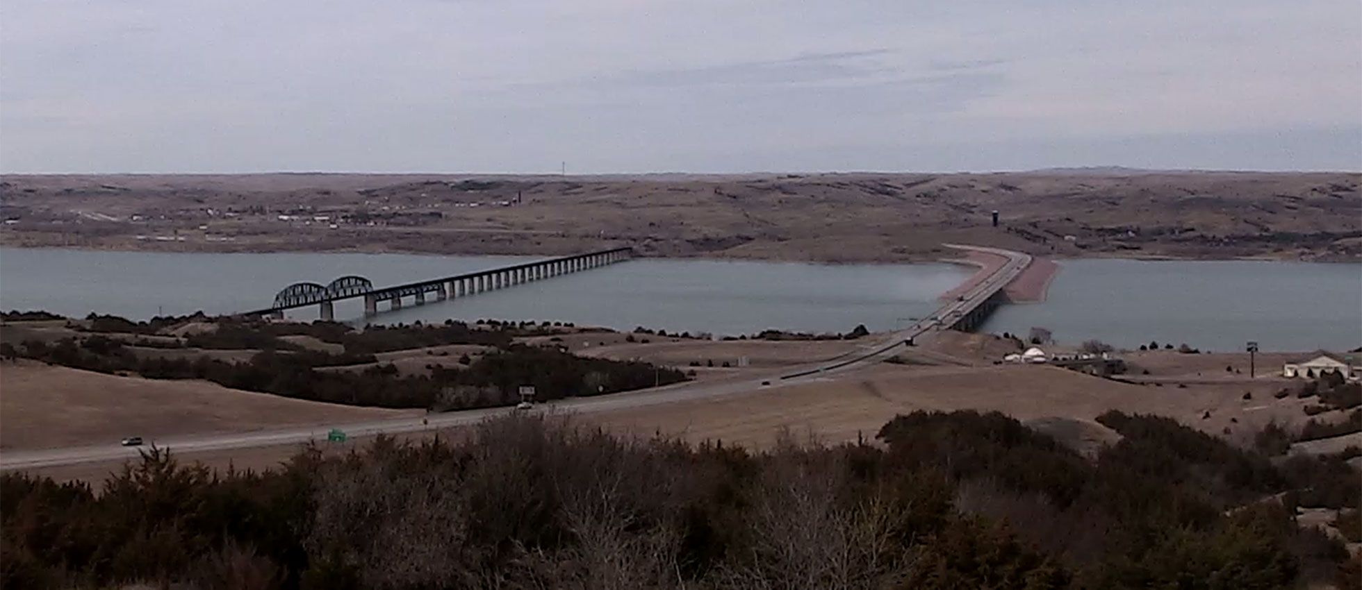 Chamberlain South Dakota skycam weather Missouri River