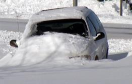 People In Vermillion Digging Out After 17 Inches Of Snow Falls In Blizzard